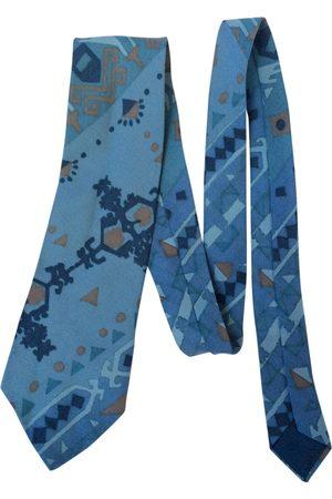 Dior Turquoise Wool Ties