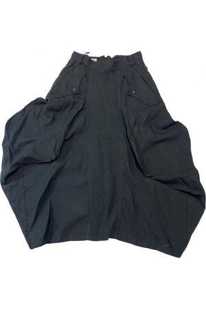 Ivan Grundhal Linen maxi skirt