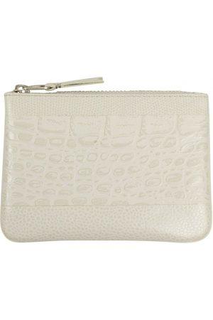 Comme des Garçons Grey Leather Small Bags\, Wallets & Cases