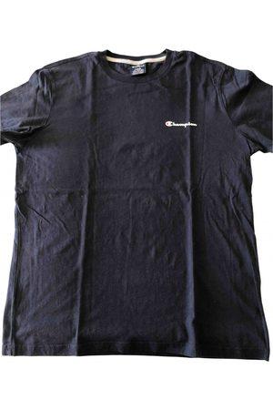 Champion Men T-shirts - Navy Cotton T-Shirts