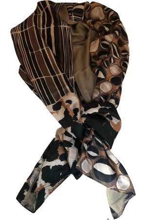 Maliparmi Camel Silk Scarves