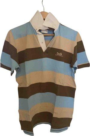 D&G by Dolce & Gabbana Camel Cotton T-shirt