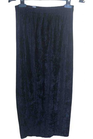GENTRYPORTOFINO Velvet maxi skirt