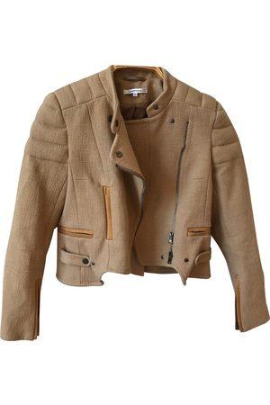 Carven Cotton Leather Jackets