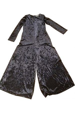 WEILI ZHENG Velvet Jumpsuits