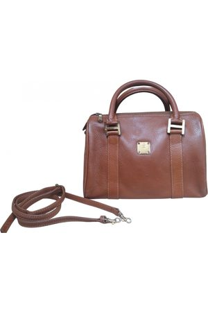 MCM Camel Leather Handbags