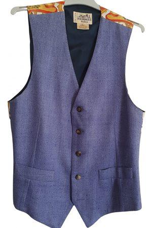 Hermès Grey Silk Knitwear & Sweatshirts