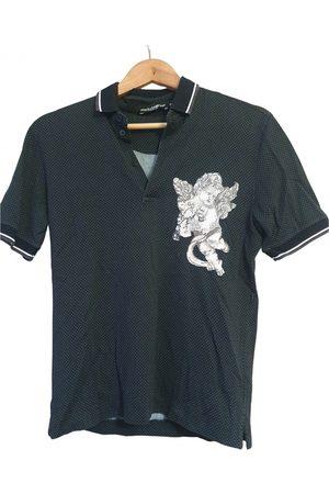 Dolce & Gabbana Men Polo Shirts - Cotton Polo Shirts