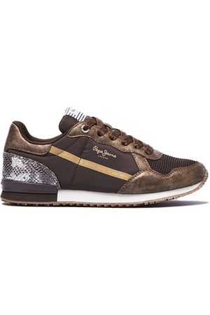 Pepe Jeans Archie Top Trainers EU 36 Bronze