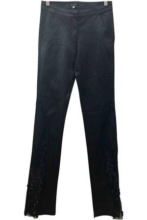 JITROIS Leather Skinny Pants