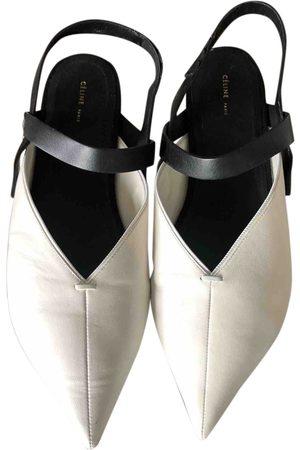 Céline Leather Sandals