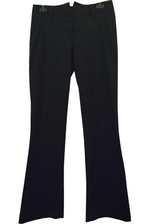 MASSIMO REBECCHI Anthracite Wool Trousers