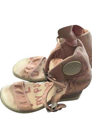 Palladium Cloth Sandals