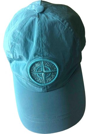 Stone Island Turquoise Synthetic Hats & Pull ON Hats