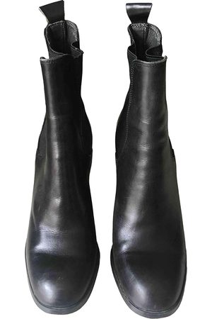 COLISEE DE SACHA Leather ankle boots
