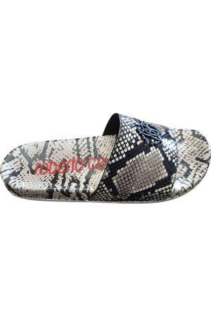 Roberto Cavalli Multicolour Leather Sandals