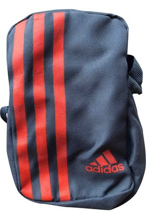 adidas Grey Cotton Small Bags\, Wallets & Cases