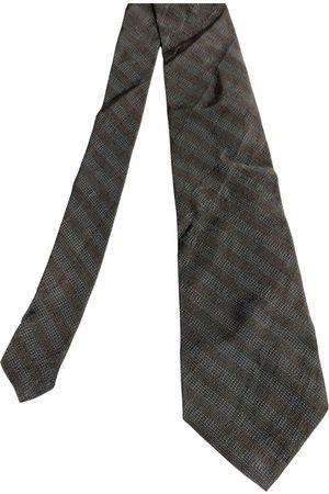 Calvin Klein Grey Silk Ties