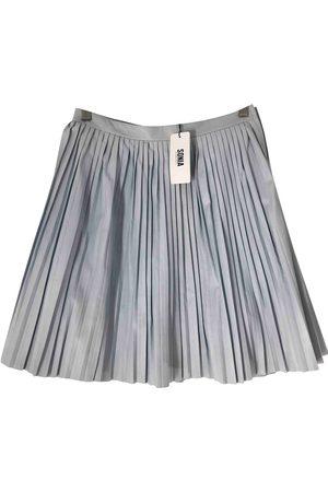 Sonia by Sonia Rykiel Leather mid-length skirt