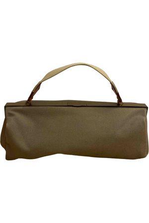 Miu Miu Khaki Cotton Handbags