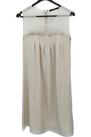 NATAN EDOUARD VERMEULEN Ecru Silk Dresses