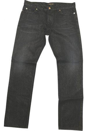 Roberto Cavalli Metallic Jeans