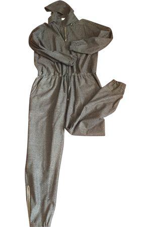 Brunello Cucinelli Grey Cashmere Jumpsuits