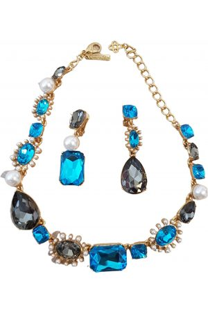 Oscar de la Renta Multicolour Gold plated Jewellery Sets