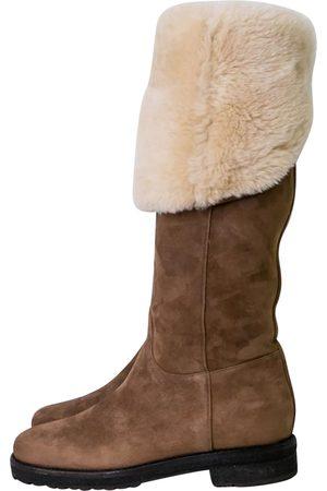 Loro Piana Suede Boots