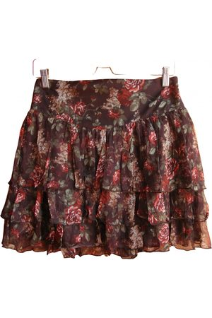 PEDRO DEL HIERRO Women Mini Skirts - Silk mini skirt