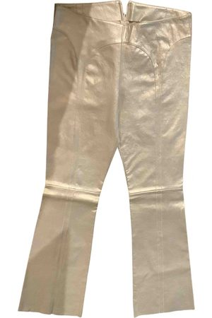 JITROIS Leather trousers