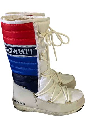 Moon Boot Leather Boots