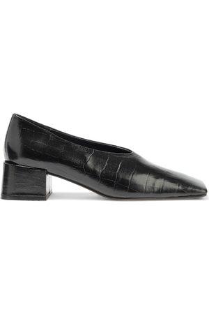Miista Woman Ivya Croc-effect Leather Pumps Size 35