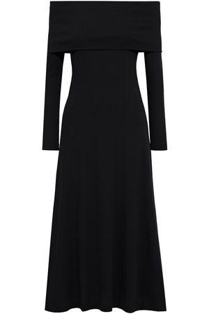 ROSETTA GETTY Woman Off-the-shoulder Cotton-jersey Midi Dress Size L
