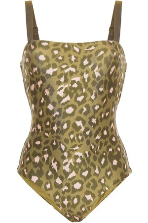 ZIMMERMANN Women Swimsuits - Woman Leopard-print Swimsuit Sage Size 1