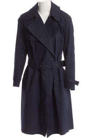 Céline Navy Cotton Trench Coats