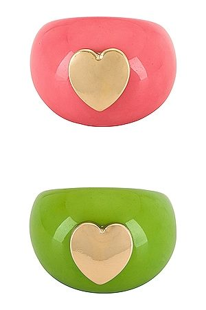 8 Other Reasons Women Rings - Heart You Ring Set in , .