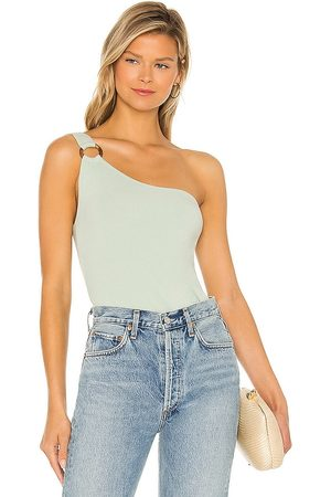 Steve Madden Just Ring It Top in Sage.