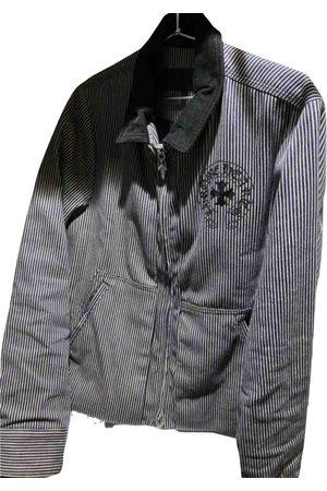 CHROME HEARTS Navy Cotton Jackets