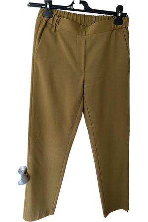 MM6 Wool straight pants