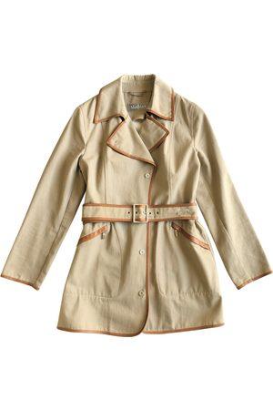 Max Mara Khaki Cotton Trench Coats