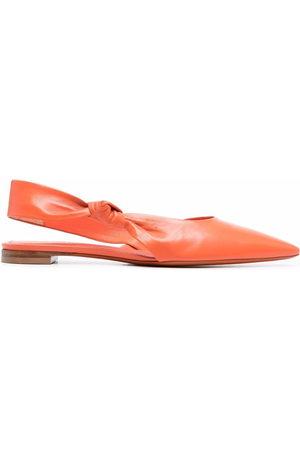santoni Knotted slingback sandals