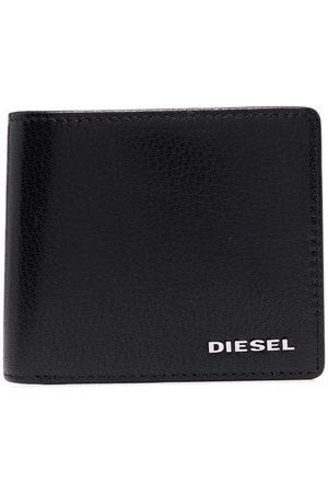 Diesel Men Wallets - Logo-print leather wallet