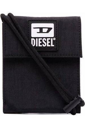 Diesel Men Wallets - Logo-print foldover wallet