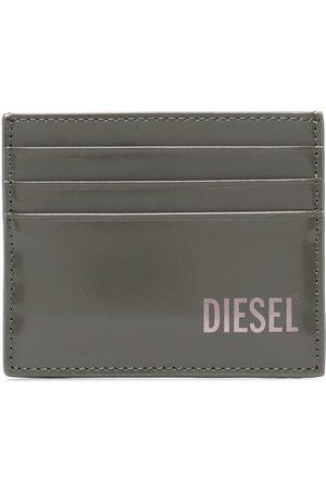 Diesel Logo-print leather cardholder