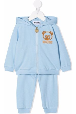 Moschino Sets - Teddy bear-patch tracksuit set