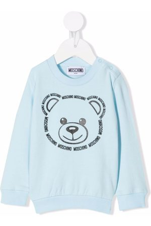 Moschino Kids Teddy bear-print sweatshirt