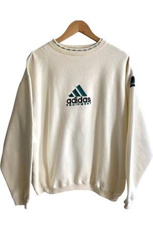 adidas Ecru Cotton Knitwear & Sweatshirt