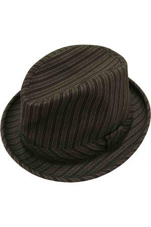 Comme des Garçons Grey Wool Hats & Pull ON Hats