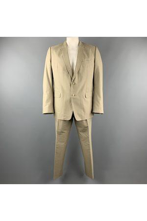 DRIES VAN NOTEN Men Suits - Khaki Cotton Suits